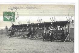LA BARRE  12 SEPTEMBRE 1909  INAUGURATION HIPPODROME DE LA NOE  LES TRIBUNES   PERSONNAGES  /  Dimanche ?  / Dept 27 - Autres Communes
