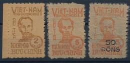 DX-142: VIETNAM DU NORD: Lot Avec N°60/62(NSG) SIGNES CALVES - Vietnam