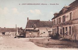 NIEVRE CHEVANNES CHANGY GRANDE RUE RESTAURANT GOUX - Altri Comuni