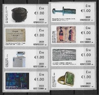 Irlande 2020 Série De Timbres Pour Distributeurs Neufs ** Objets Historiques - Affrancature Meccaniche/Frama