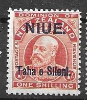 Niue Mh* 10 Euros 1911 - Niue