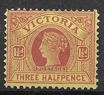 1899 Victoria Mh* - Ongebruikt