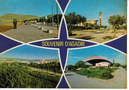 Maroc Agadir Souvenir En 4 Vues éditions Larabi Mahmoud Casablanca - Agadir