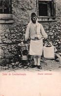 CPA - CONSTANTINOPLE - Glacier Ambulant - Edition ? - Türkei
