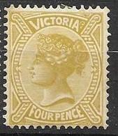 1906 Victoria Mh * 10 Euros - Ongebruikt