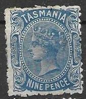 1896 Tasmania Mh * 12 Euros - Ongebruikt