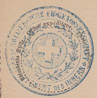 1874  BERN  /  EIDGENOESSISCHES DEPARTMENT DES INNERN - Franchise