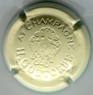 CAPSULE-CHAMPAGNE GOUTORBE H N°14 Estampée Crème - Non Classificati