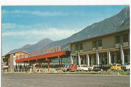 Italie Aosta Ristorante Supermarket Autoporto Animée Auto Renault 4 L - Aosta