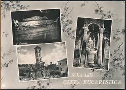 °°° 22182 - BOLSENA - SALUTI DALLA CITTA EUCARISTICA (VT) 1958 °°° - Other Cities