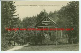 74 Semnoz Cret Du Maure Attelage Restaurant Chalet De La Grande Jeanne Pres Annecy Alleves Massif Des Bauges Animee - Annecy