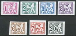 D - [57574]SUP//ND/Imperf-c:90e-TX66/72, Série Complète - Imperforates