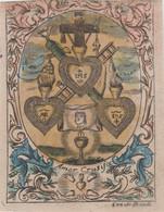 Devotie Cornelis De Boudt-1660-1735-opgelet !  Bovenrand Door Vorige Eigenaar Afgeknipt ! - Devotieprenten