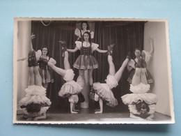 REVUE - CABARET - VARIETY Shows - TONEEL - OPERETTE - KOMEDIE - THEATER ( Detail Zie Scans ) Te Identificeren ! - Theater, Kostüme & Verkleidung
