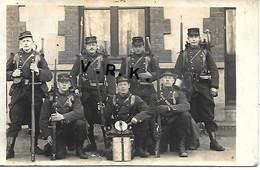 MILAIRE -Photo Carte - 110° Régiment D'INFANTERIE - (Fusil Lebel) - SUP - 1914-18