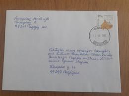 Lithuania Litauen Cover Sent From Taurage To Pagegiai - Lituania