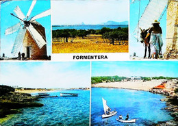 ► MOULIN à VENT - SPAIN - Formentera Baleares  1967    (Windmühle Windmolen Windmill) - Windmolens