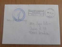 Lithuania Litauen Cover Sent From Panevezys To Siauliai 2012 - Lituania