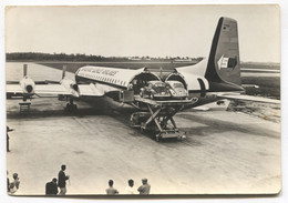 SEABOARD WORLD AIRLINES - TRANSPORT VW BEETLE CARS,  AIRCRAFT PLANE, Car, Auto, Airplane - 1946-....: Era Moderna
