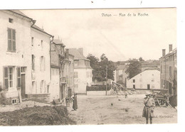 REF2856/ CP-PC Virton Rue De La Roche Animée Utilisée En Feldpost - Virton