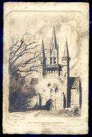 Eau Forte Taille Cpa -- Par Ch. Jaffeux -- Du 56 Le Faouet Chapelle St Fiacre Côté Ouest        AVR20-203 - Le Faouet