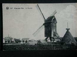 Le Moulin.  De Molen. - De Haan