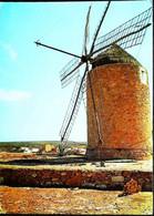 ► MOULIN à VENT - SPAIN - Formentera Baleares  1969    (Windmühle Windmolen Windmill) - Windmolens