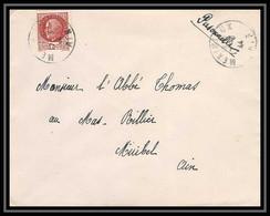 6152/ France Lettre (cover) N°517 Pétain 1944 Meximieux Pour Miribel AIN (abbé Thomas) - 1941-42 Pétain