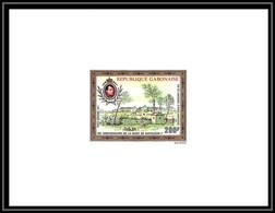 0187 Epreuve De Luxe Deluxe Proof Gabon (gabonaise) Poste Aerienne PA N°109 Napoleon - Napoleon