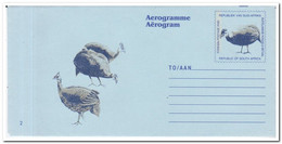Zuid Afrika, Aerogramme Unused, Birds - Airmail