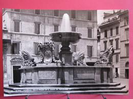 Visuel Très Peu Courant - Italie - Roma - Fontana Nella Piazza Di S. Maria In Trastevere - Excellent état - R/verso - Places & Squares