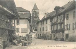 CPA Europe Suisse Canton De Vaud VD La Chiesaz Sur Vevey - VD Waadt