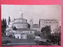 Visuel Très Peu Courant - Italie - Roma - Abside E Convento Di S. Sebastiano Sulla Via Appia - Excellent état - R/verso - Autres Monuments, édifices