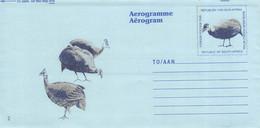 SOUTH AFRICA - AEROGRAMME BIRDS Unc //Q153 - Aéreo