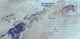 SOUTH AFRICA - AEROGRAMME ZEBRA Unc //Q155 - Aéreo