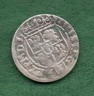 Pologne Sigismund III Pièce De 3 Polker 1624 - Polen