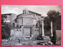 Italie - Roma - Tempio Di Remolo Nel Foro Romano - CPSM En Excellent état - R/verso - Autres Monuments, édifices