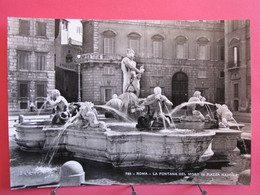 Italie - Roma - La Fontana Del Moro In Piazza Navona - CPSM En Excellent état - R/verso - Autres Monuments, édifices