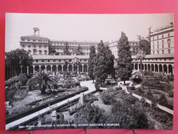 Visuel Pas Très Courant - Italie - Roma - Chiostro E Giardino Del Museo Nazionale Romano - Excellent état - R/verso - Parcs & Jardins