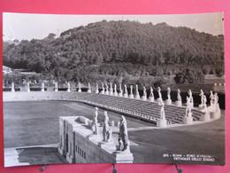Italie - Roma - Foro D'Italia - Dettaglio Dello Stadio - Très Bon état - R/verso - Autres Monuments, édifices