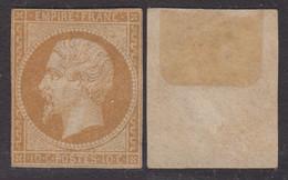 10c Empire ND Au Type II Neuf (*) Sans Gomme (Y&T N° 13B, Cote Sans Gomme: 300€) - 1853-1860 Napoléon III