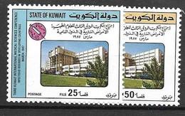 Kuwait Mnh ** Complete Set 1987 Medical 6 Euros - Kuwait