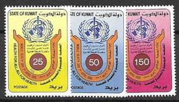 Kuwait Mnh ** Complete Set 1988 Health 8 Euros - Kuwait