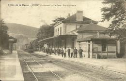 - 08 - FUMAY - La Gare - Vue Intérieure - Other Municipalities