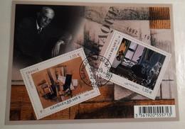 France 4800 Série Artistique Personnalité Georges  Oblitéré 1er Jour 2013  Avec Gomme Service Philatelique De La Poste - Afgestempeld