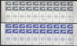 1962/1963/1964** - 1c/2c/5c SABINE - 3 BAS FEUILLES De 20 Voir Détail - 1977-81 Sabine (Gandon)