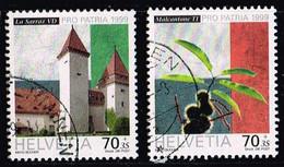Schweiz 1999,Michel# 1681 - 1682 O - Gebruikt