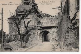MONTDIDIER - RUINES - LE PALAIS DE JUSTICE - Montdidier