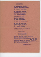 ° WW2 ° COMMANDEMENTS ° GENERAL DE GAULLE ° - Historical Documents
