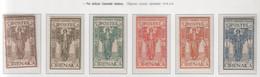 """Colonie - Cirenaica 1926 - """"Pro Istituto Coloniale""""  S. Cpl 6v MNH** - Cirenaica"""